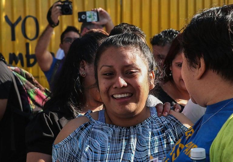 A teenage rape victim in El Salvador who spent nearly three years in jail for murder following a stillbirth has appeared in court for a retrial.Evelyn Beatriz Hernandez was given a 30-year prison sentence in 2017 for aggravated murder by a female judge who ruled the teen had induced an abortion.El Salvador has one of the harshest abortion bans in the world. It is even illegal in cases of rape and incest, when the woman's life is in danger, or if the foetus is deformed.Ms Hernandez, now 21 and from a poor rural community, said she was raped and did not realise she was pregnant until she went into labour in a toilet and gave birth to a stillborn baby.The Citizen Group for the Decriminalisation of Abortion (CDFA) said there was no proof that she tried to kill the child, and that she suffered a pregnancy-related complication.Miscarriages and stillbirths in El Salvador are often treated as suspected abortions, which have been legally regarded as murder since 1997. Legal cases against women who have experienced miscarriages and obstetric emergencies are forcefully pursued, with women who turn up at public hospitals after a miscarriage sometimes being accused of having killed the foetus. Around 20 women are serving sentences of up to 40 years for abortion crimes after suffering miscarriages, stillbirths or pregnancy complications in the socially conservative Catholic-majority nation, the CDFA estimates. The group has tracked 146 prosecutions against women for abortion since 2014. Of those cases, 60 women were jailed, with 24 convicted of aggravated homicide. Some insist they had miscarriages and did not deliberately end their pregnancies. Ms Hernandez's sentence was annulled in February in an appeal before El Salvador's top court – with a new trial being ordered with a new judge.Ms Hernandez was released from prison in February of this year when she was granted conditional liberty for the duration of her trial. She spent 33 months behind bars – exceeding the 24-month limit