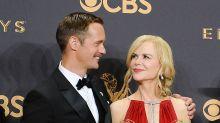 Nicole on THAT Emmys Kiss with Alex Skarsgard