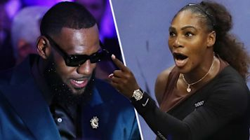 LeBron: Serena 'is dealing with so much more'