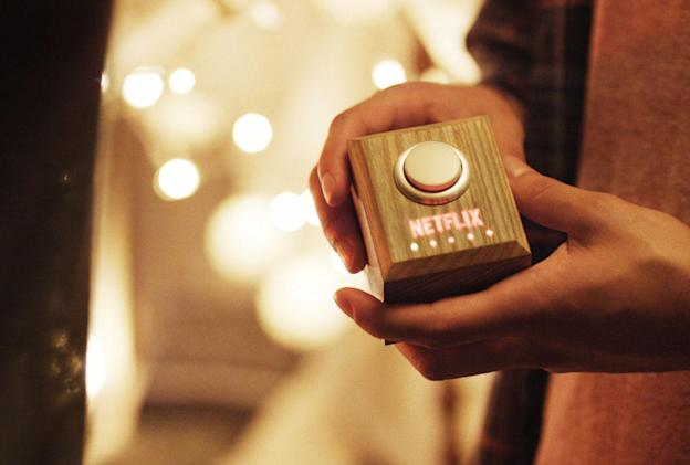 Netflix actually made a Netflix and Chill button, and you can too