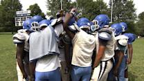 Ferguson football team carries on in midst of turmoil