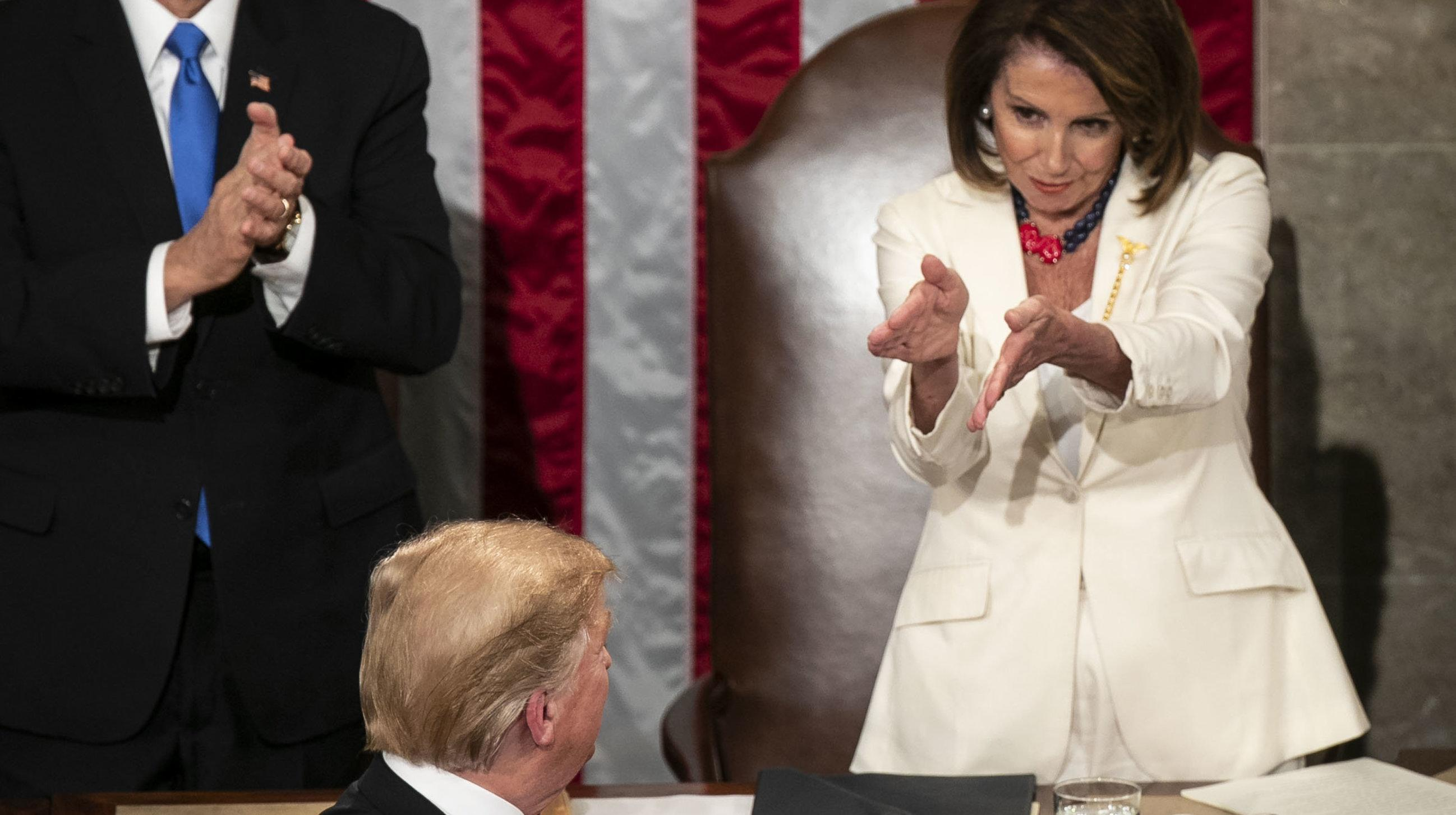 Nancy Pelosi's Daughter Jokes That Infamous Clap At Trump Took Her Back To Teen Years