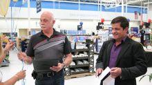 Charlotte-region hosiery company headed to Walmart HQ to pitch product