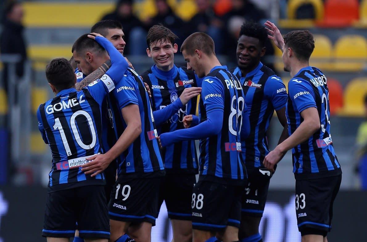 Zapata 4 gol l 39 atalanta sbaraglia il frosinone for Il mobile frosinone