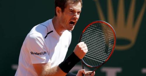 Tennis - ATP - Monte-Carlo - Masters 1000 de Monte-Carlo : Andy Murray vainqueur en deux sets accrochés de Gilles Muller pour son retour à la compétition