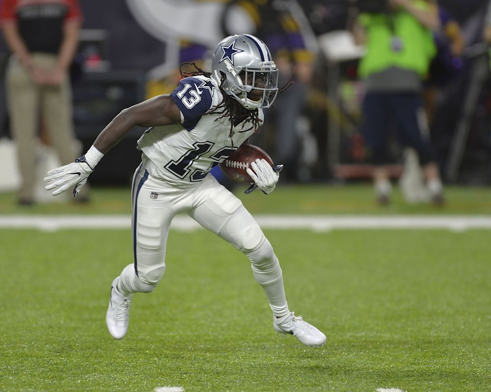 Cowboys WR Lucky Whitehead added his name to the list of Dallas players who got in trouble this offseason. (Getty Images)
