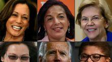 Confira as aspirantes a compor a chapa democrata de Biden à Casa Branca
