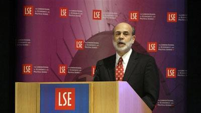 Bernanke: Stimulus Alone Won�t End Credit Crunch