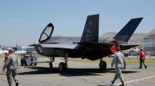 Pentagon halts Lockheed Martin F-35 jet flights to examine fuel tubes