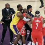 SUSPENDED: Brandon Ingram and Rajon Rondo also banned for role in Lakers-Rockets fight