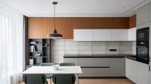 糅合自然材質與溫暖色調,營造寧靜的北歐居家風情