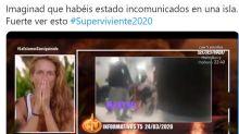 La impactante reacción de una concursante de 'Supervivientes' al ver un vídeo sobre el Coronavirus