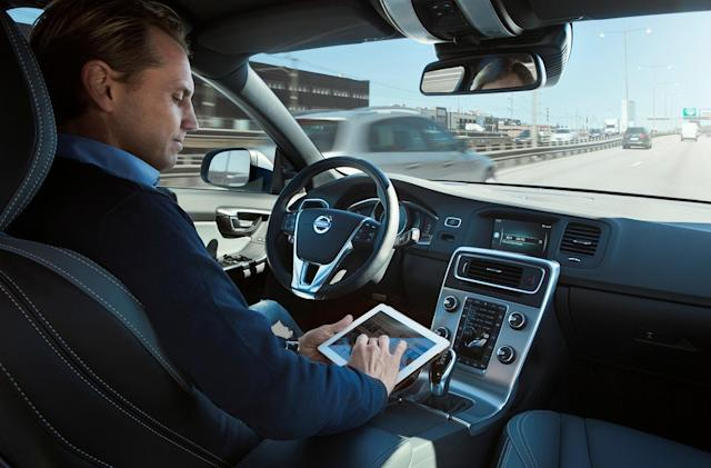 Volvo creates a company to sell self-driving car software