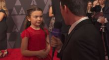 Meet this year's most adorable awards contender, 7-year-old 'Florida Project' star and 'Wonder Woman' superfan Brooklynn Prince