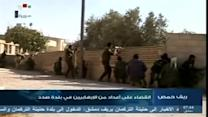 Syrian army fights rebels for control of key Christian town