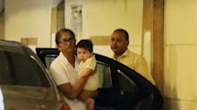 We have new pics of the cutest baby in town, Taimur Ali Khan