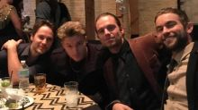 'The Covenant' Co-Stars Taylor Kitsch, Sebastian Stan, Chace Crawford, and Toby Hemingway Ring in the New Year Together