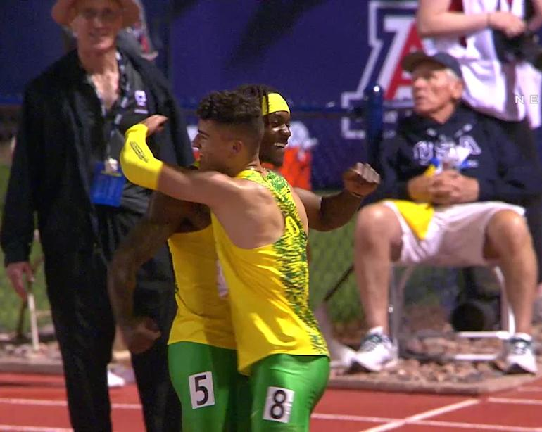 the best attitude c7838 3fd10 2019 Pac-12 Track & Field Championships: Oregon men celebrate 13th straight  conference crown