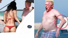 Tennis fans spot disturbing detail in photos of Boris Becker