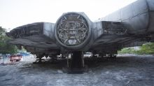 Star Wars 8 Millennium Falcon Found By Urban Explorers