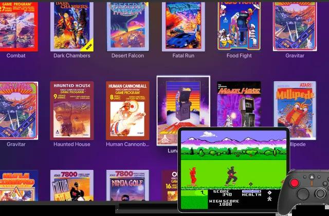 Plex Arcade features a bunch of old-school Atari games