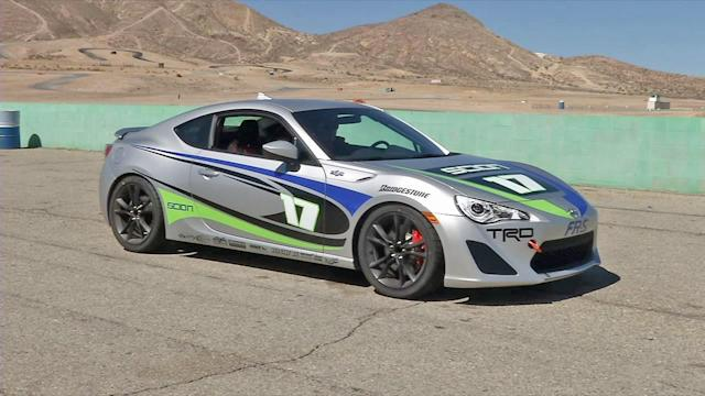 Toyota Celeb Race in Long Beach debuts new car