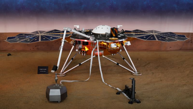The Mars landing module confirms earthquakes, including aftershocks on the red planet