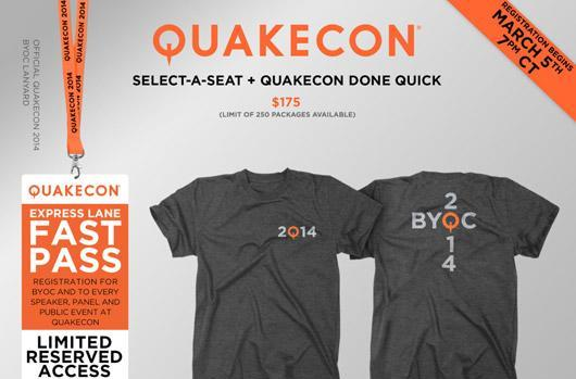 QuakeCon 2014 first-round registration opens March 5