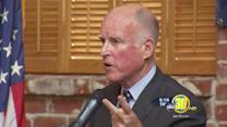 Governor Jerry Brown undergoing cancer treatment