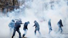 Huelga en Francia: paro, violencia y disturbios contra la reforma previsional