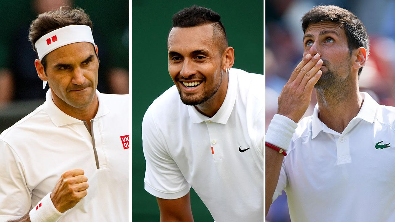 Nick Kyrgios reignites Novak Djokovic spat with cheeky Wimbledon request