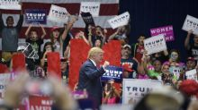 Forever Trump: Diehard supporters' rallying cry