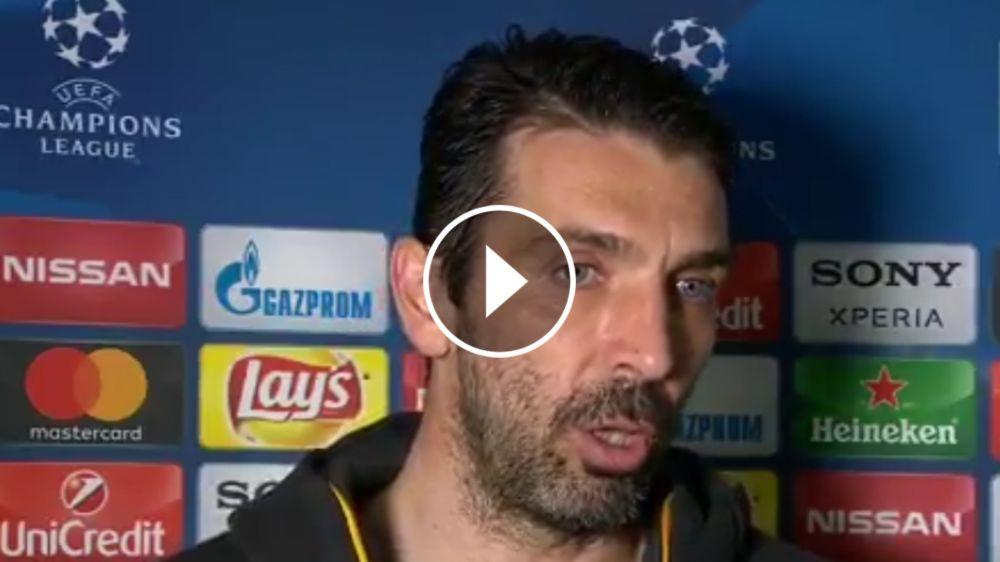 """VIDEO: """"Sólo el periodismo tiene dudas con Higuaín"""", lanzó Buffon"""