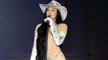 Noah Cyrus turns heads in 'inappropriate' naked bodysuit