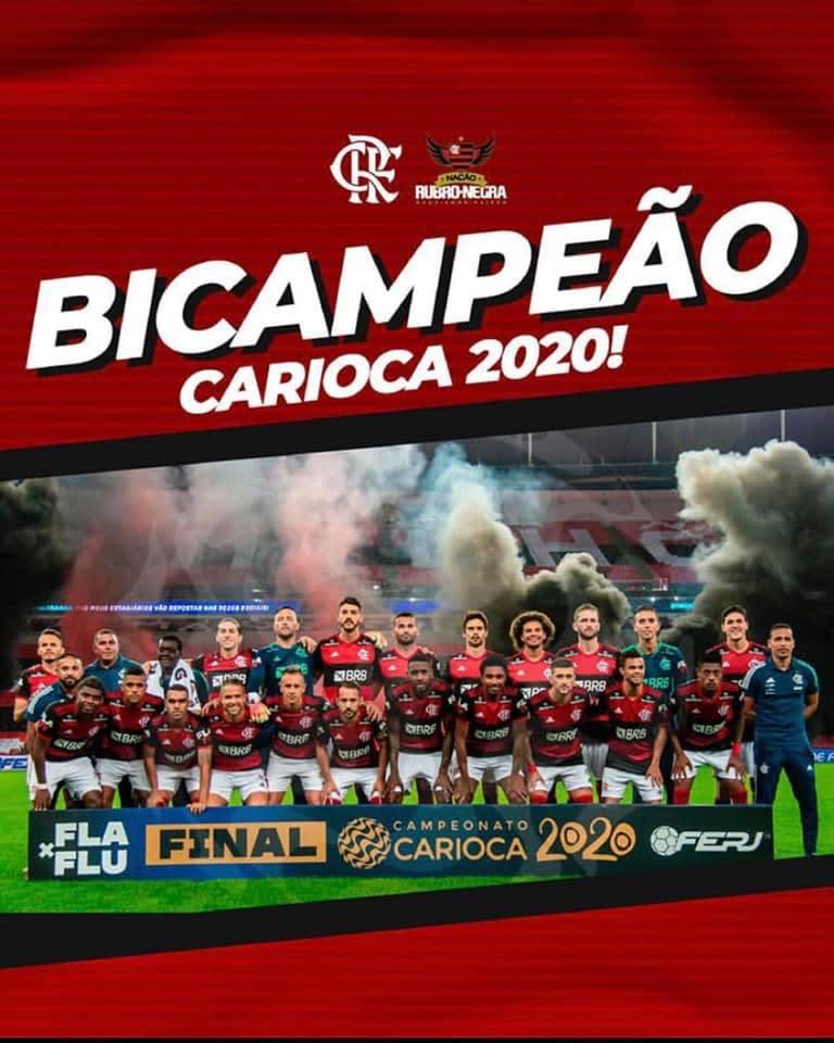 Flamengo é bicampeão, é 36 vezes campeão do Rio