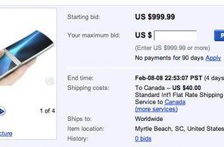 eBay seller offers Nokia Aeon, is a flat out liar