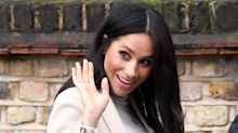 Meghan Markle laughs off 'fat lady' comment in $40 maternity dress