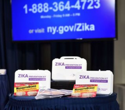 Florida governor complains U.S. not doing enough to fight Zika