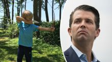 Donald Trump Jr.'s 'proud father' moment is sparking controversy