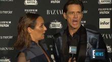 """Jim Carrey se hace viral con su entrevista más bizarra: """"El mundo no existe"""""""