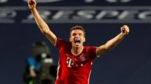 Thomas Müller shows PSG's A-list attacking unit how to be a winner