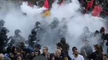 Violent protests break out at G-20 summit in Hamburg, Germany