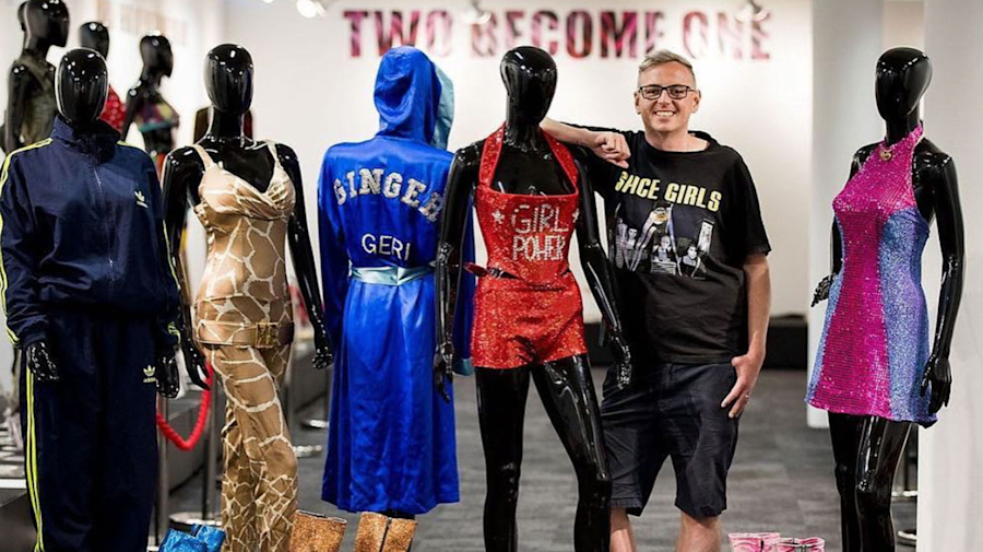 Spice Girls superfan launches an exhibition