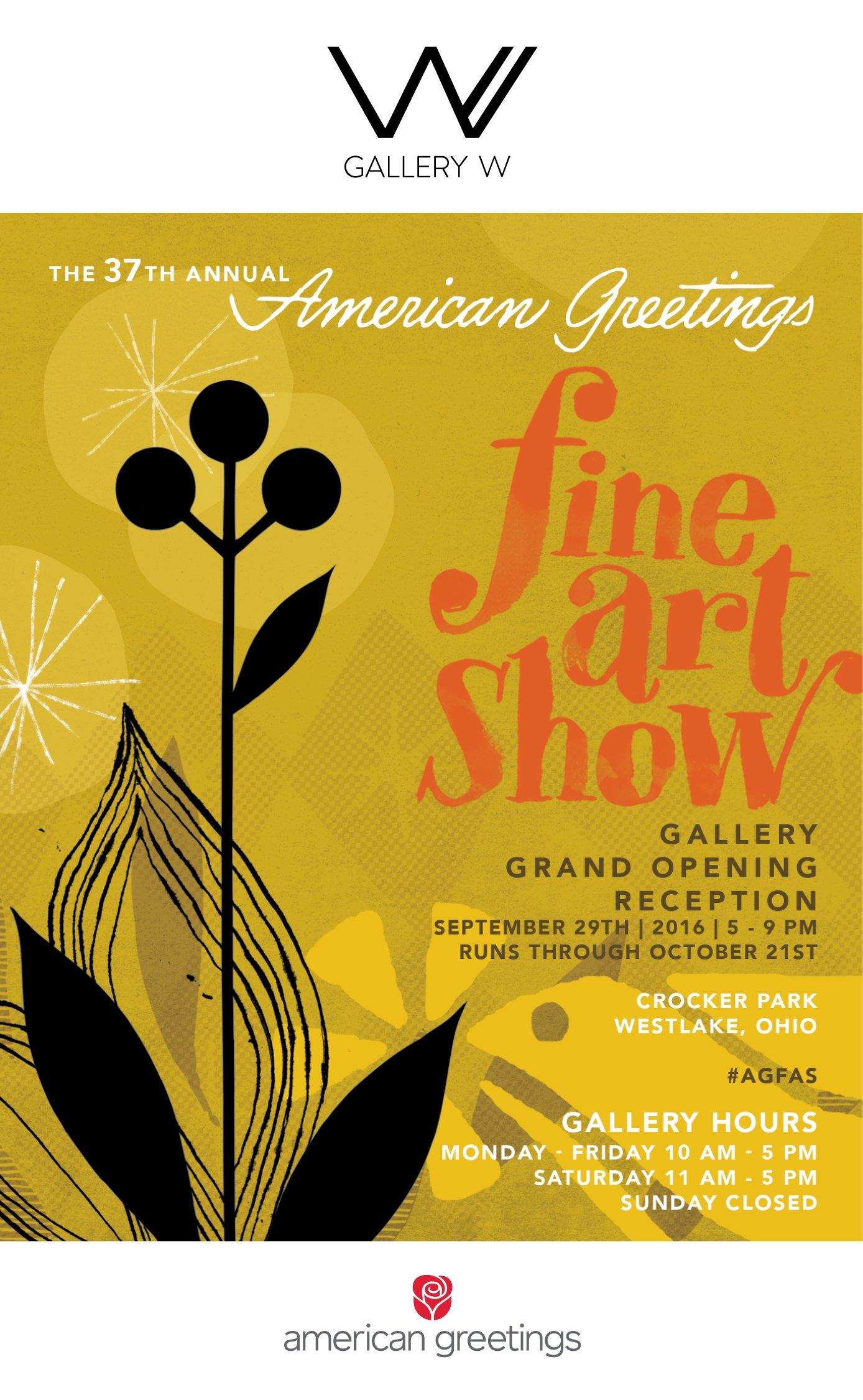 American greetings welcomes the public to gallery w at new creative american greetings welcomes the public to gallery w at new creative studios kristyandbryce Choice Image
