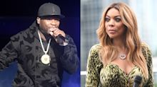 50 Cent turns Wendy Williams away from pool party