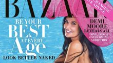 Demi Moore, 56, goes naked for Harper's Bazaar: 'Looking as gorgeous as you always have'