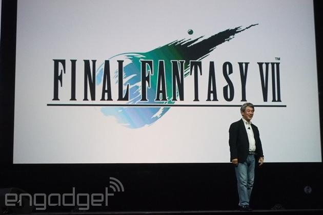 'Final Fantasy VII' is coming exclusively to PlayStation 4 in Spring 2015