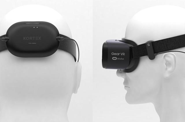 VR headset attachment promises to manage stress and sleep