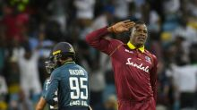 Attention! Cotterell revels in Windies' wicket salute