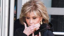 Krebs an ihrer Lippe: Jane Fonda nimmt's gelassen